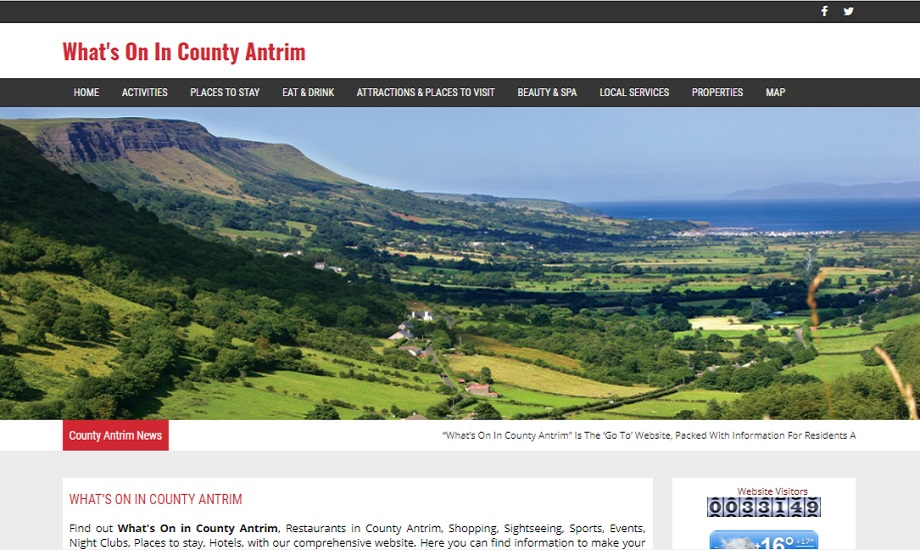 What's on in County Antrim