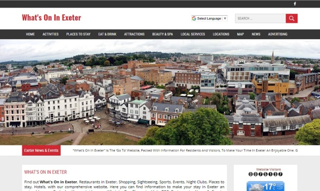 Whats On In Exeter
