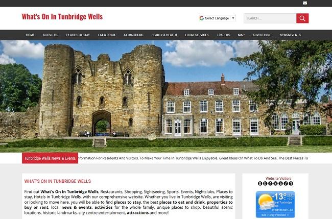 Whats On In Tunbridge Wells